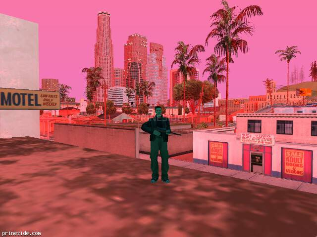 GTA San Andreas weather ID 167 at 20 hours