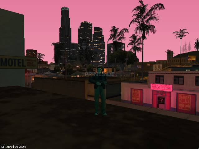 GTA San Andreas weather ID -857 at 21 hours