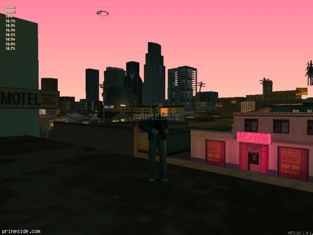 GTA San Andreas weather ID 167 at 22 hours