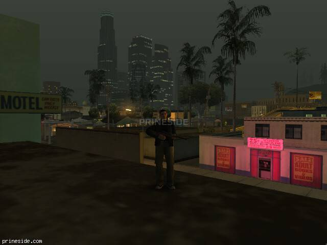 GTA San Andreas weather ID 168 at 0 hours