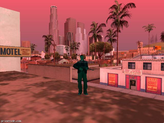 GTA San Andreas weather ID 168 at 13 hours