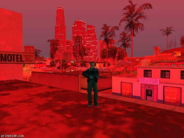 GTA San Andreas weather ID -856 at 21 hours