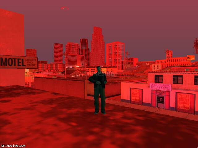 GTA San Andreas weather ID 168 at 22 hours