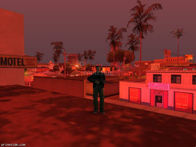 GTA San Andreas weather ID 168 at 23 hours
