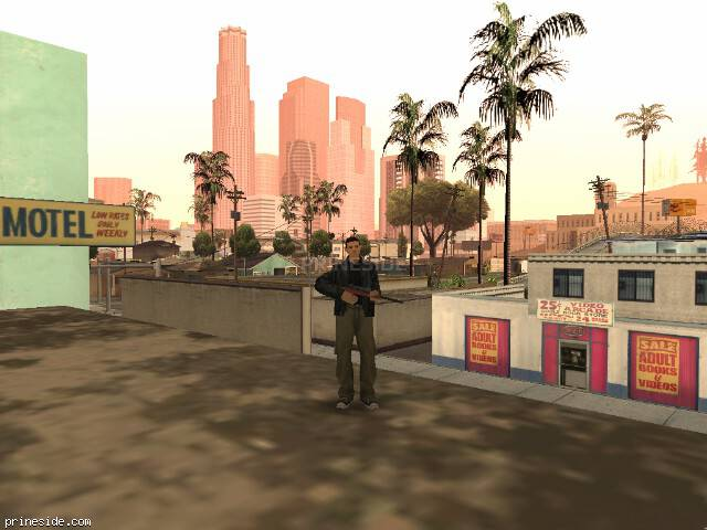 GTA San Andreas weather ID 17 at 13 hours