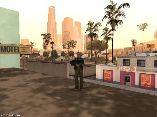 GTA San Andreas weather ID 785 at 17 hours