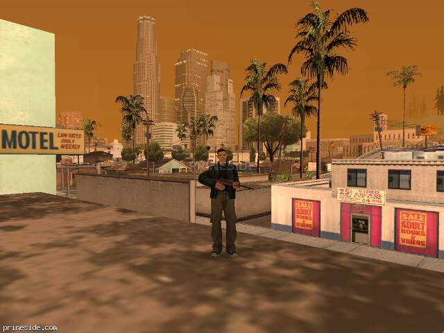 GTA San Andreas weather ID 17 at 20 hours