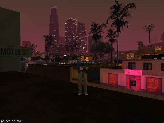 GTA San Andreas weather ID 785 at 21 hours