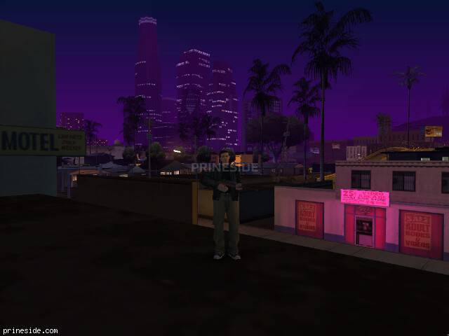 GTA San Andreas weather ID -495 at 22 hours