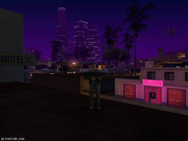 GTA San Andreas weather ID -495 at 23 hours