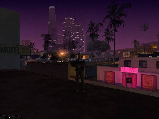 GTA San Andreas weather ID 1041 at 4 hours