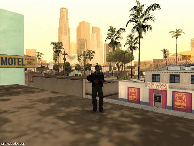 GTA San Andreas weather ID 17 at 7 hours