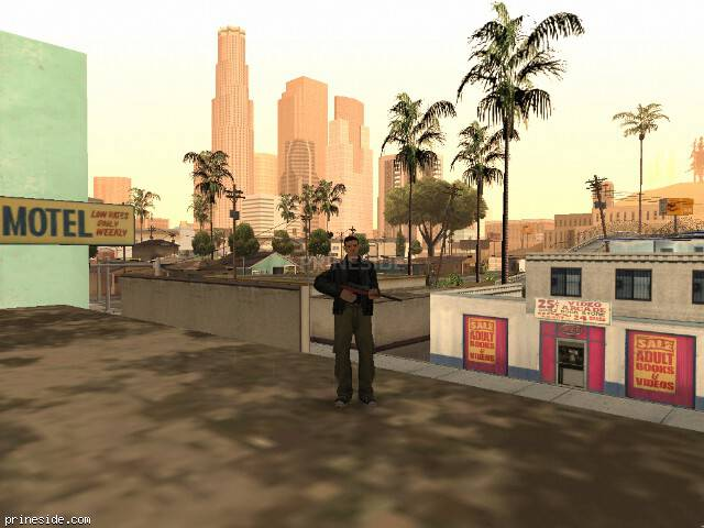 GTA San Andreas weather ID -495 at 9 hours