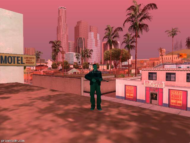 GTA San Andreas weather ID 170 at 15 hours