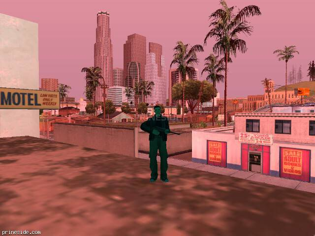 GTA San Andreas weather ID 170 at 17 hours