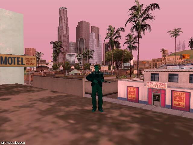 GTA San Andreas weather ID 170 at 18 hours