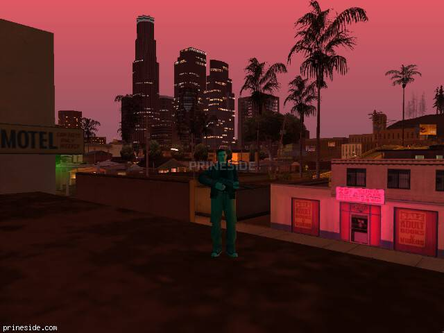 GTA San Andreas weather ID 170 at 21 hours
