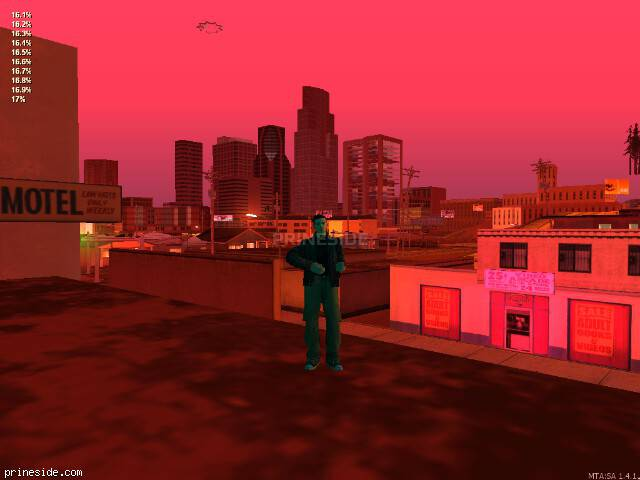 GTA San Andreas weather ID 682 at 22 hours