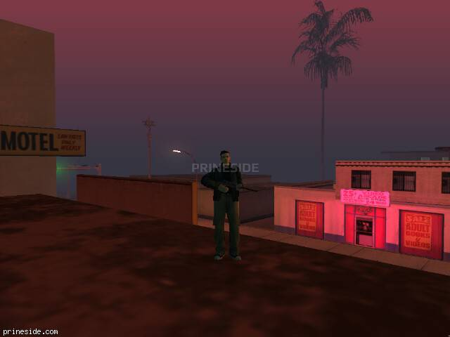 GTA San Andreas weather ID -86 at 23 hours