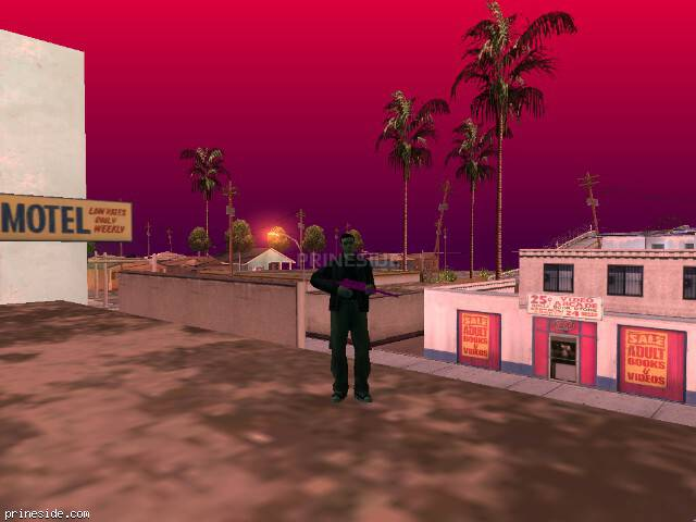 GTA San Andreas weather ID 170 at 7 hours