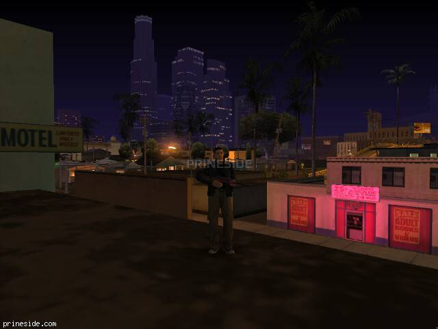GTA San Andreas weather ID 172 at 0 hours