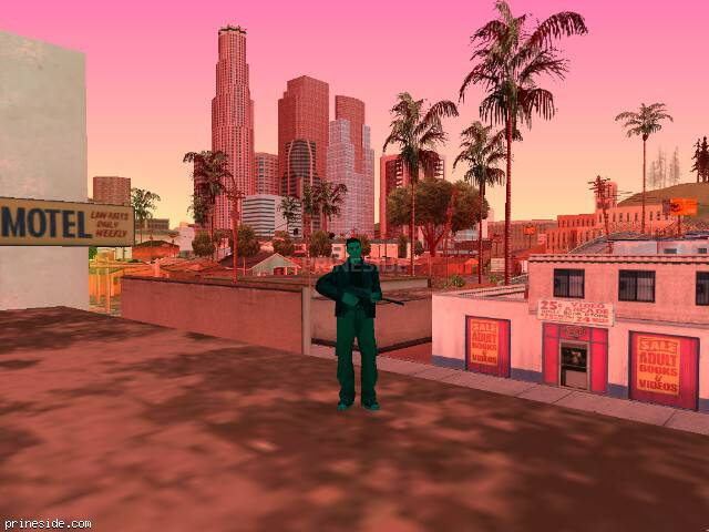 GTA San Andreas weather ID 1196 at 10 hours