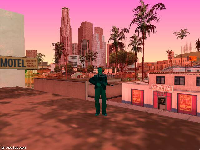GTA San Andreas weather ID 428 at 11 hours