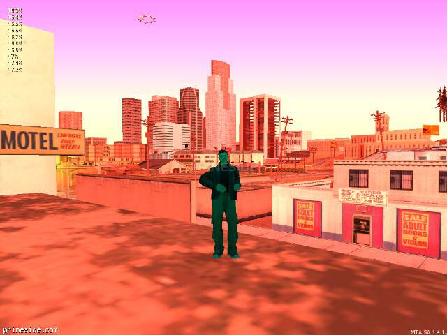 GTA San Andreas weather ID 940 at 12 hours