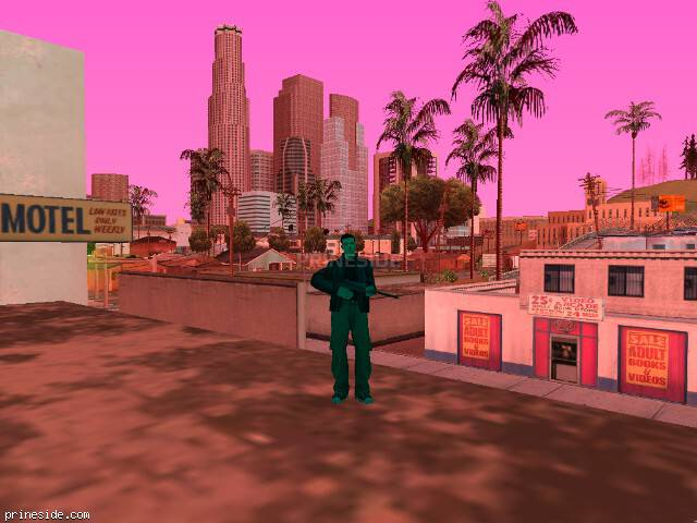 GTA San Andreas weather ID 1452 at 17 hours