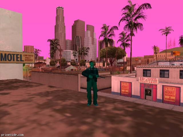 GTA San Andreas weather ID 428 at 19 hours