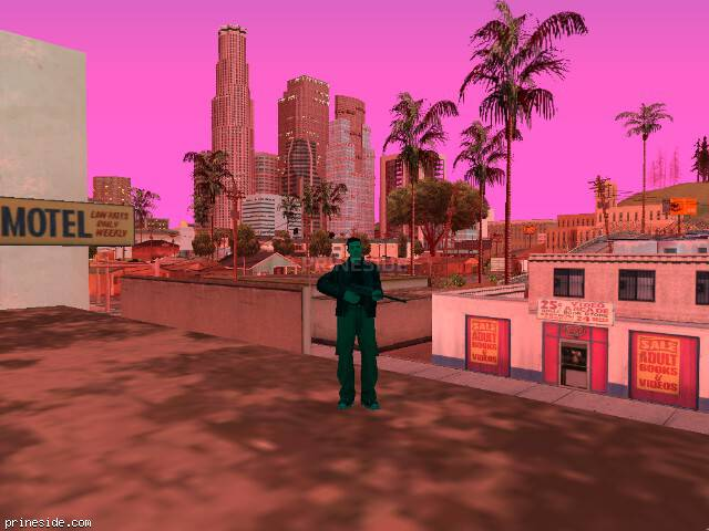 GTA San Andreas weather ID 428 at 20 hours