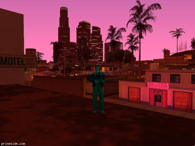 GTA San Andreas weather ID 172 at 21 hours