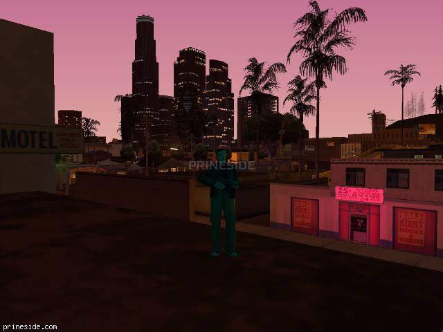 GTA San Andreas weather ID 1452 at 22 hours