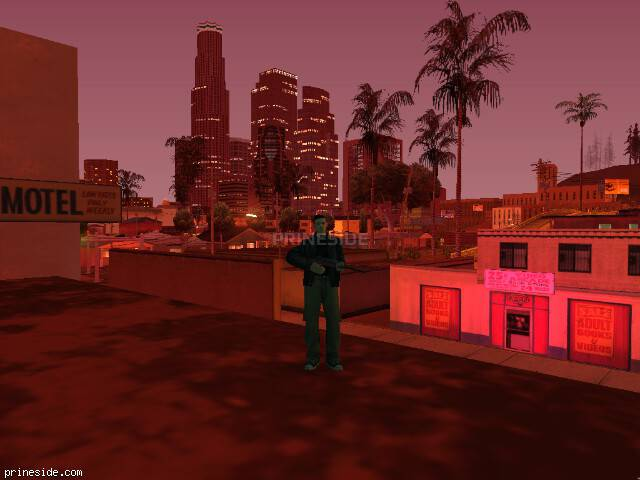 GTA San Andreas weather ID 172 at 23 hours