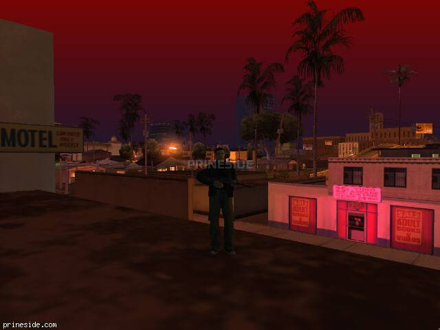 GTA San Andreas weather ID 1964 at 2 hours