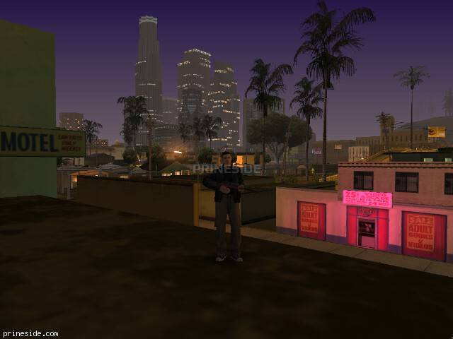 GTA San Andreas weather ID 174 at 0 hours