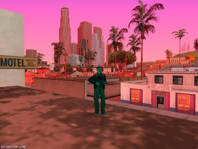 GTA San Andreas weather ID 174 at 14 hours