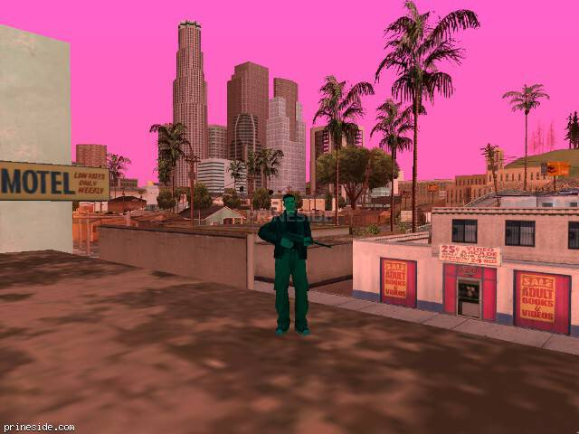 GTA San Andreas weather ID 174 at 17 hours