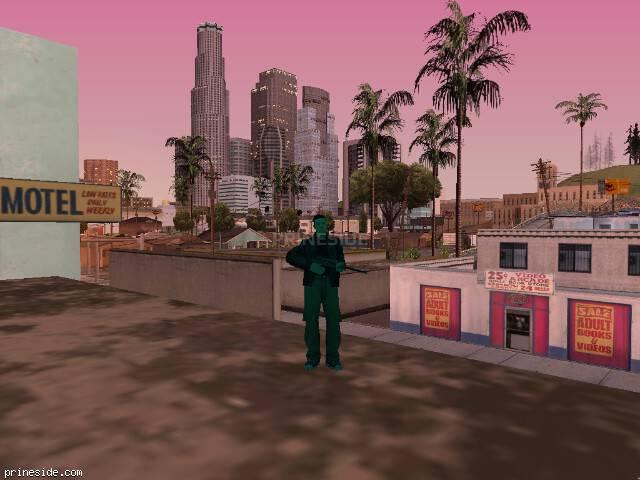 Просмотр погоды GTA San Andreas с ID 174 в 20 часов