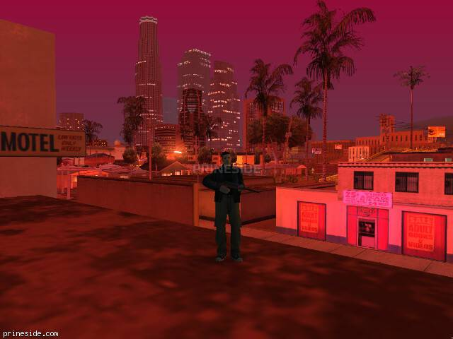 GTA San Andreas weather ID 174 at 2 hours