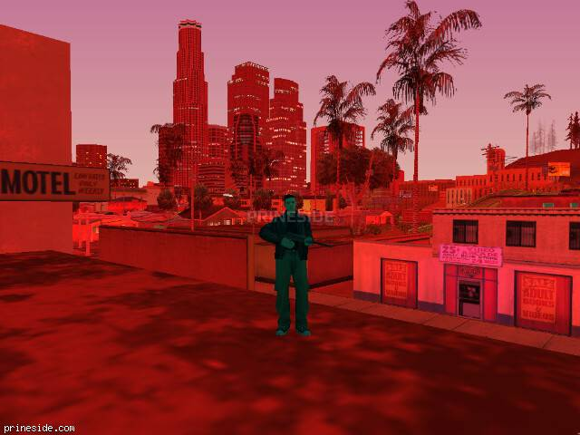 GTA San Andreas weather ID 175 at 22 hours