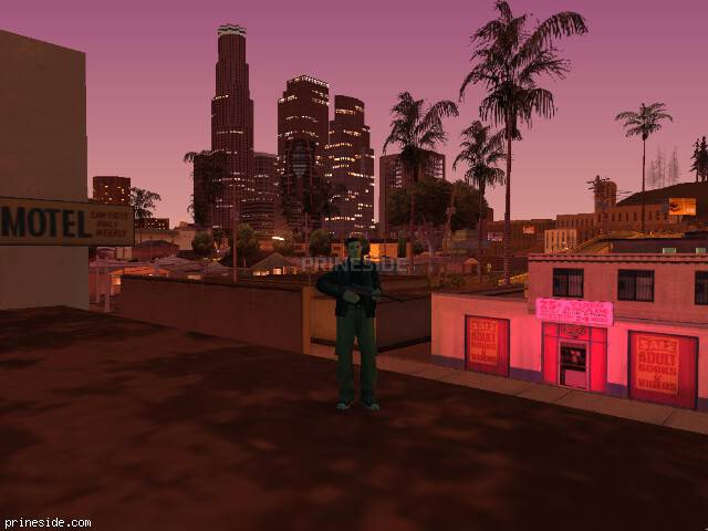 GTA San Andreas weather ID -593 at 23 hours