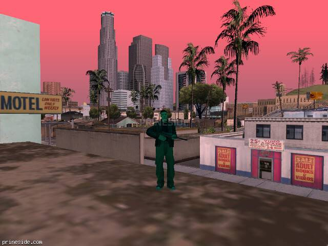 GTA San Andreas weather ID 176 at 14 hours