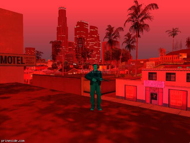 GTA San Andreas weather ID 176 at 21 hours