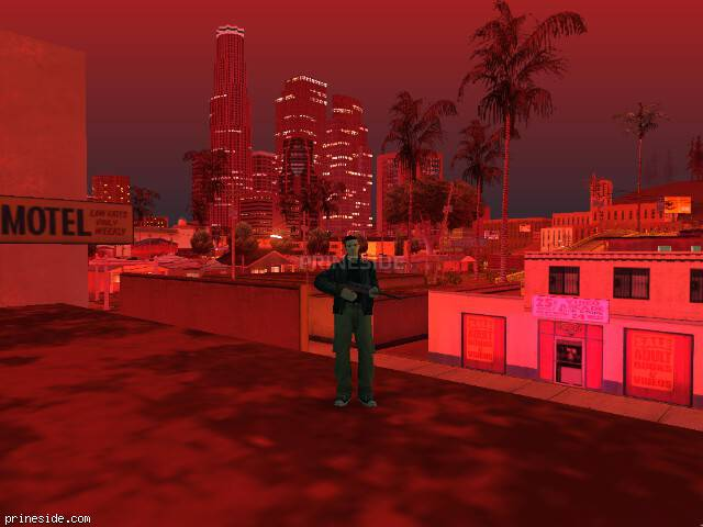 GTA San Andreas weather ID 688 at 23 hours