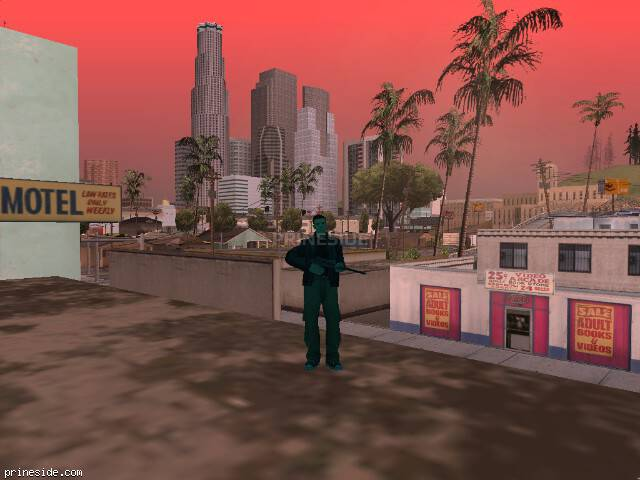 GTA San Andreas weather ID 177 at 14 hours