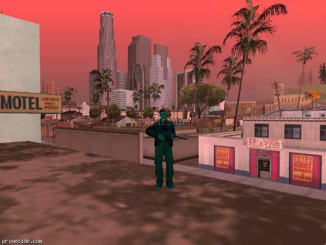 Просмотр погоды GTA San Andreas с ID 177 в 17 часов