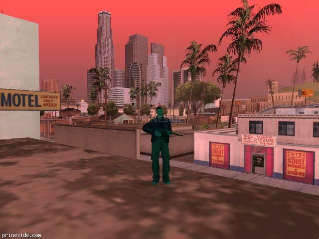Просмотр погоды GTA San Andreas с ID 433 в 18 часов