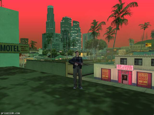 GTA San Andreas weather ID 433 at 21 hours