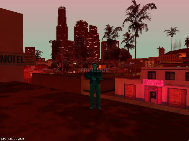 GTA San Andreas weather ID 690 at 21 hours